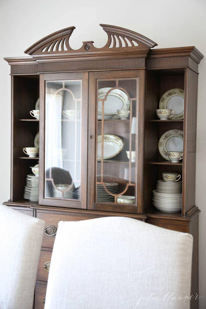 An organized eye to decorating - simple ways to blend both beauty & function