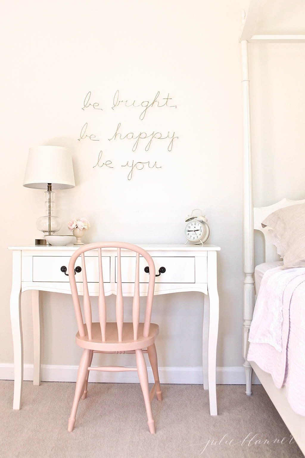A Sweet Simple Little Girl S Room
