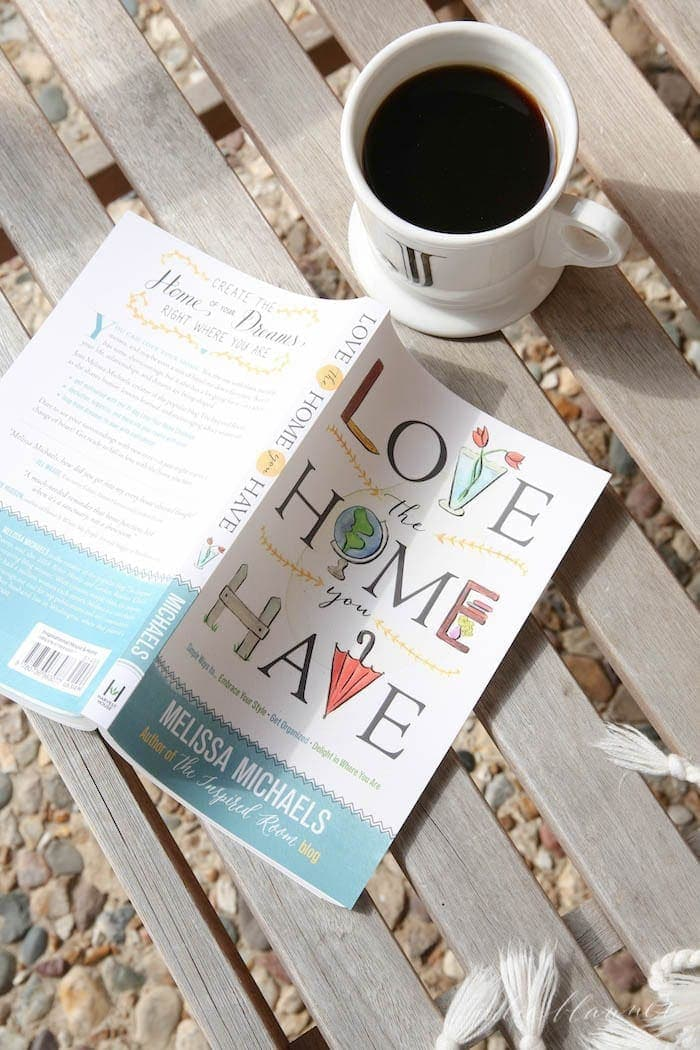 "The Inspired Room book by Melissa Michaels ""Love the Home You Have"""