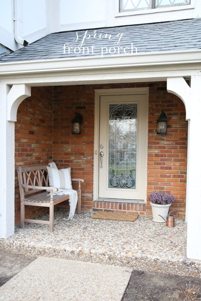 Our Spring Front Porch | Love Your Home