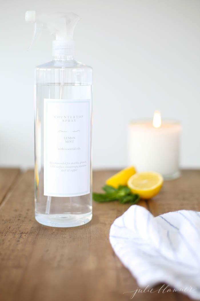 lemon cleaner recipe
