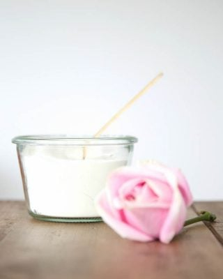 Soft & sweet rose milk bath recipe, great for gifting in less than 5 minutes!