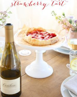 Easy Strawberry Tart Recipe - get the step by step instructions to create this beautiful dessert in just 5 minutes!