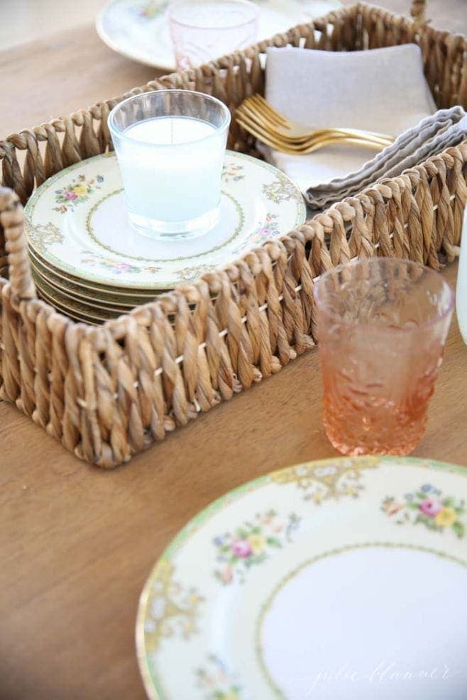 Easy entertaining ideas for spring party
