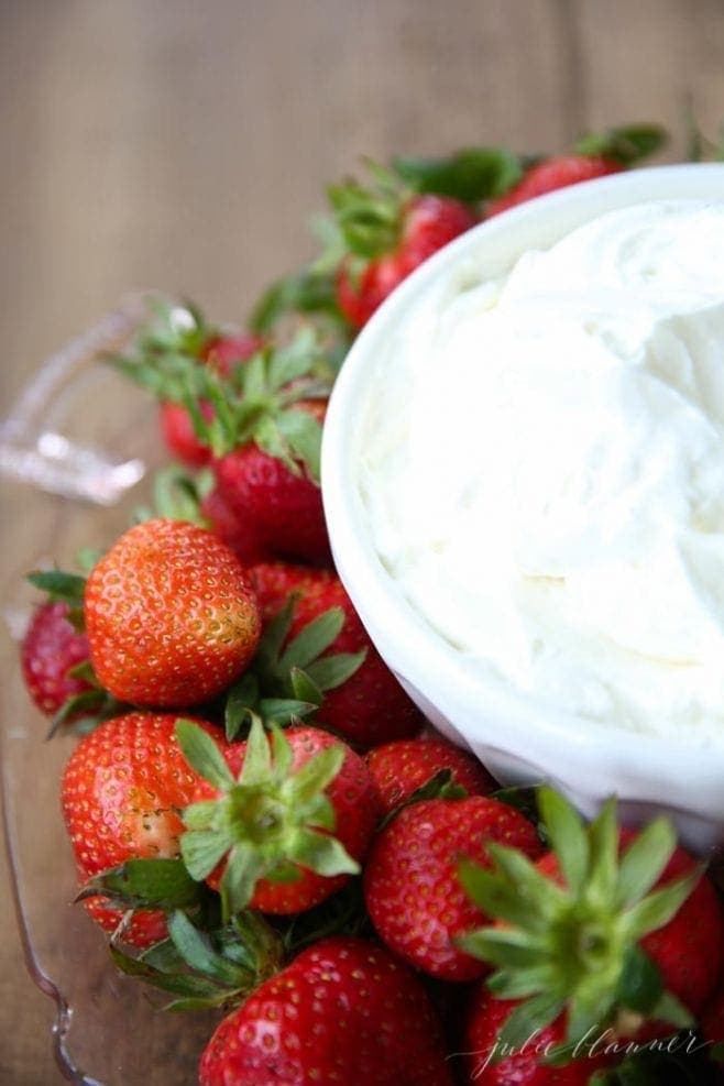 5 minute, 3 ingredient amazing fruit dip recipe
