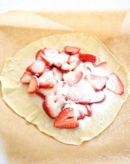5 minute skinny strawberry tart recipe