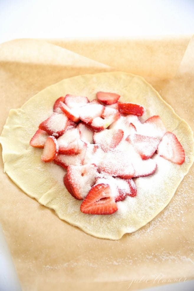 5 minute skinny strawberry tart recipe