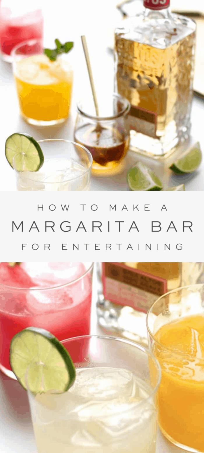 Margarita Bar How To Set Up A Margarita Bar For Easy Entertaining