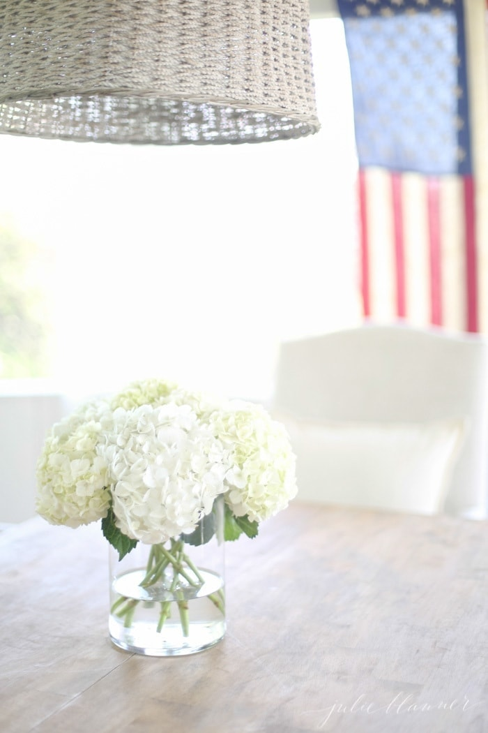 Simple 4th of July Decorations with a touch of classic AmericanaSimple 4th of July Decorations with a touch of classic Americana