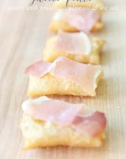 10 minute amazing brunch or dinner appetizer - Gnocco Fritto