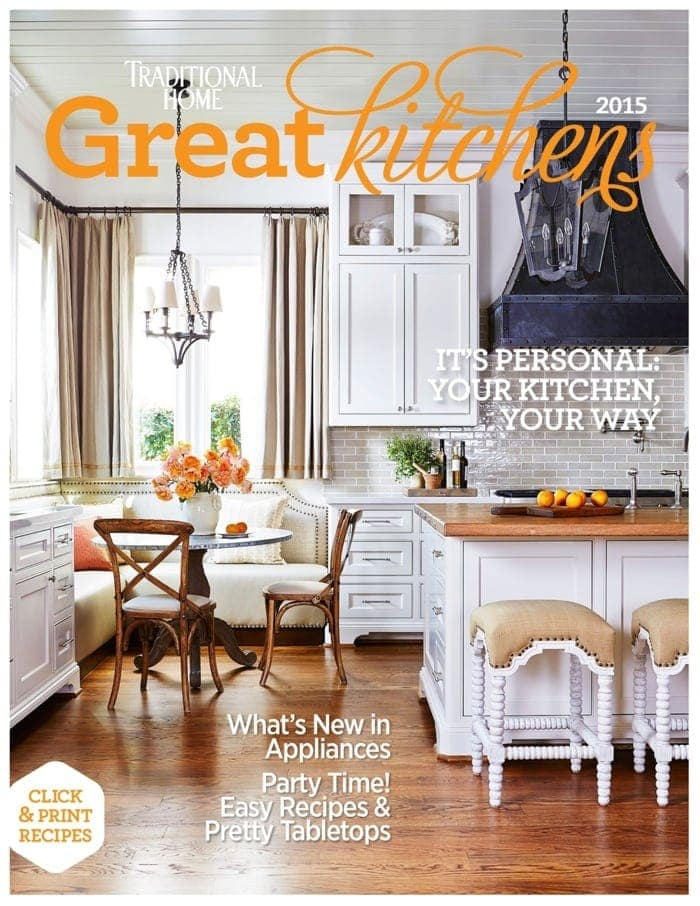 Traditional Home Magazine Great Kitchens