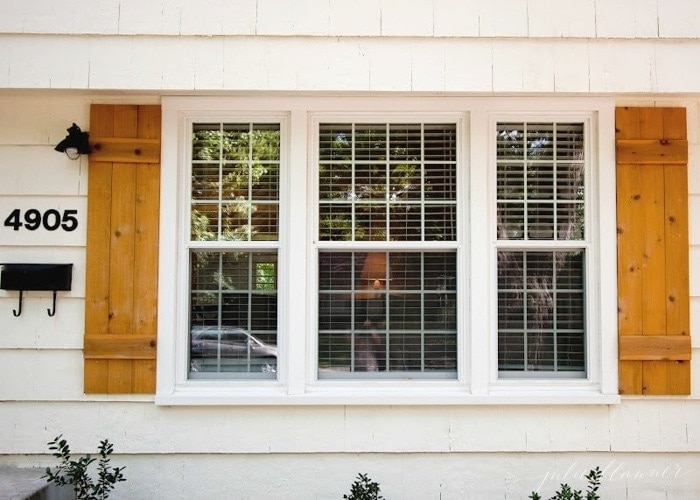 Easy diy wood shutters and 9 other ideas to add charm to your home