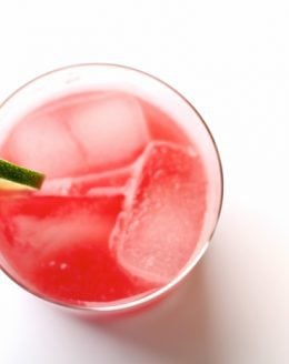 Skinny Watermelon Margarita recipe