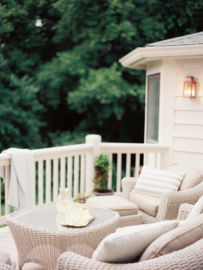 10 minute outdoor decorating ideas - Outdoor Decor Ideas