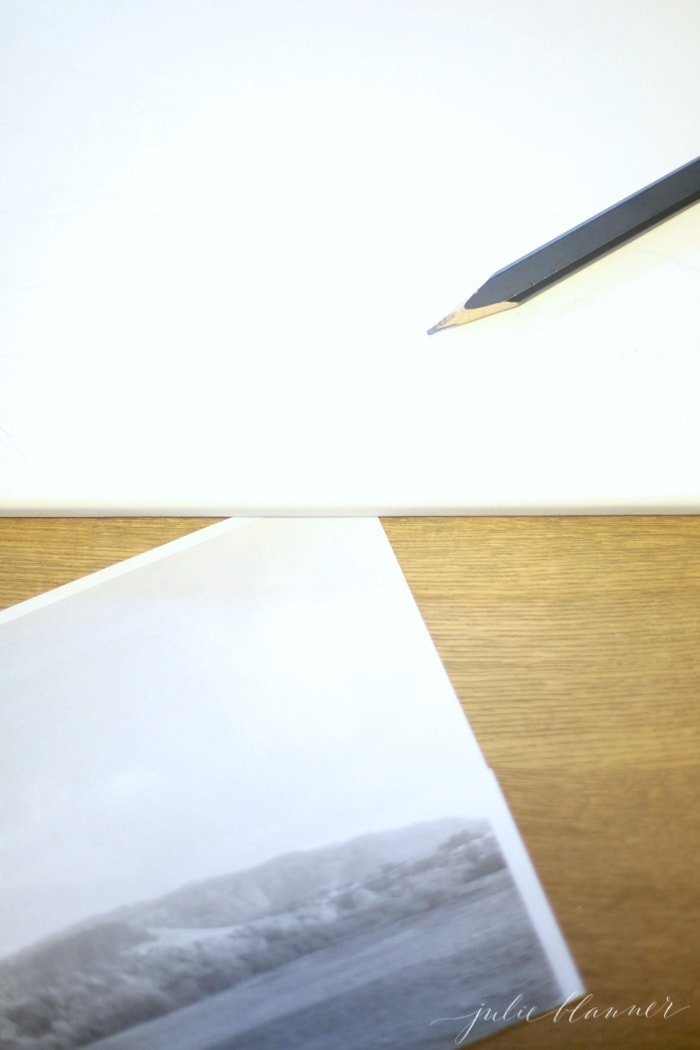 How to put a photo to canvas   easy art idea