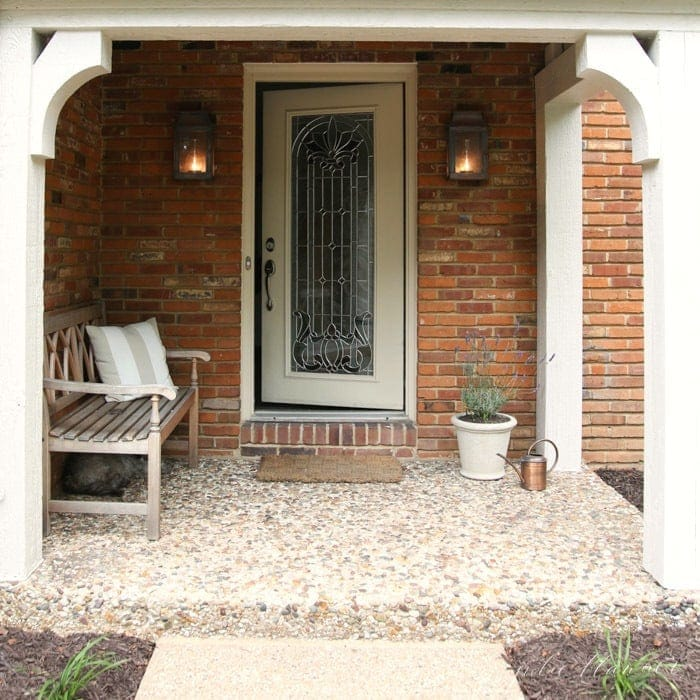 Create an inviting front porch | porch decorating ideas