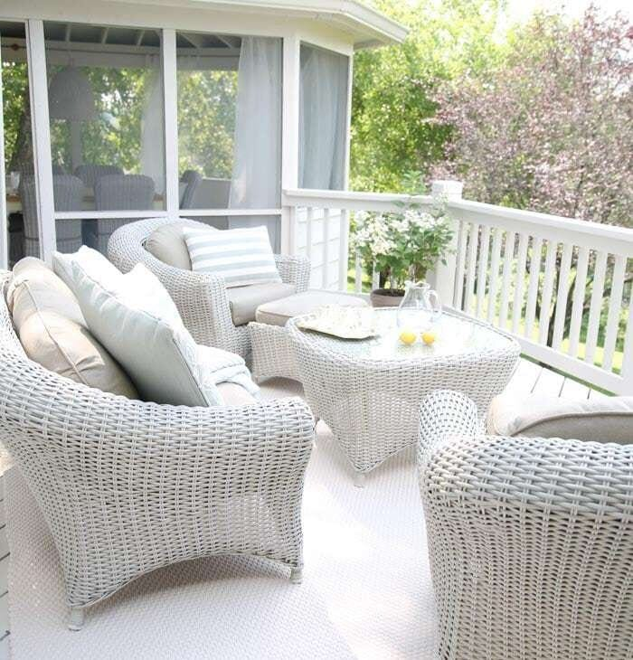 Outdoor Living   Beautiful decor ideas and how to define your deck or patio as an outdoor living room