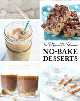 the best no bake recipes