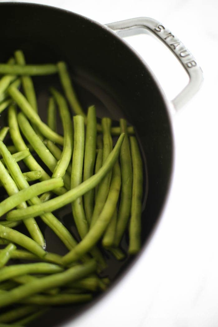How to cook fresh green beans