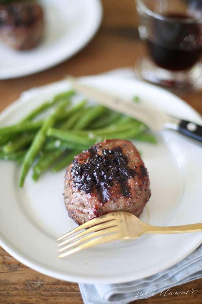 Pinot Reduction Steak Enhancement | Red Wine Sauce recipe