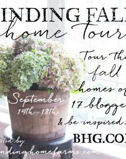 blogger fall home tour