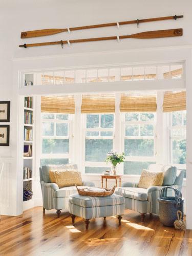 Lake cottage via Bright Bold Beautiful blog