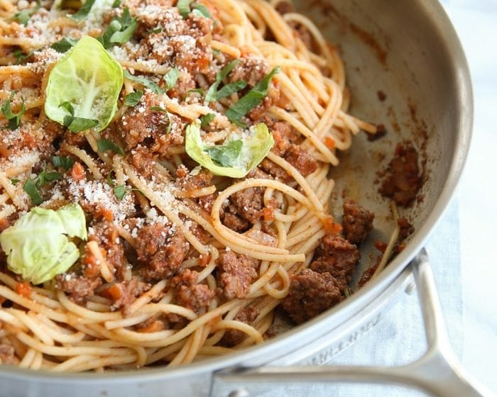 Fresh, flavorful and fragrant bolognese sauce recipe - a hearty dinner that will warm you up this winter