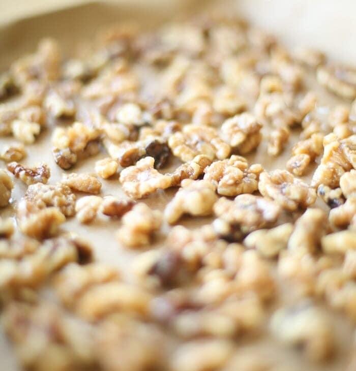 5 ingredient candied walnuts recipe