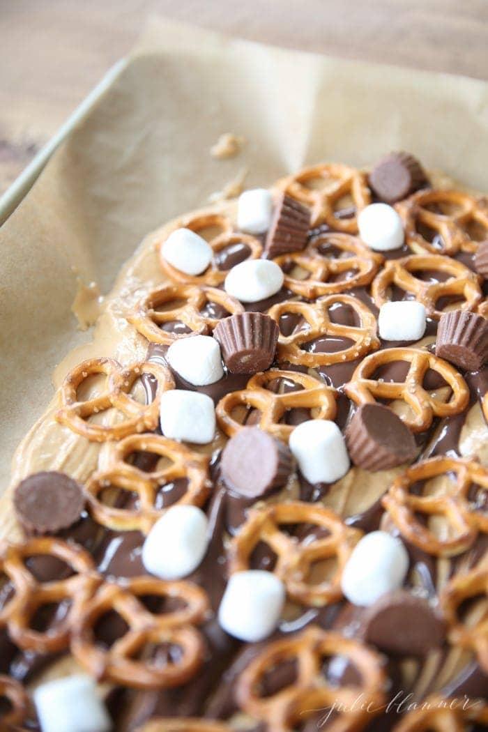 Easy peanut butter bark recipe
