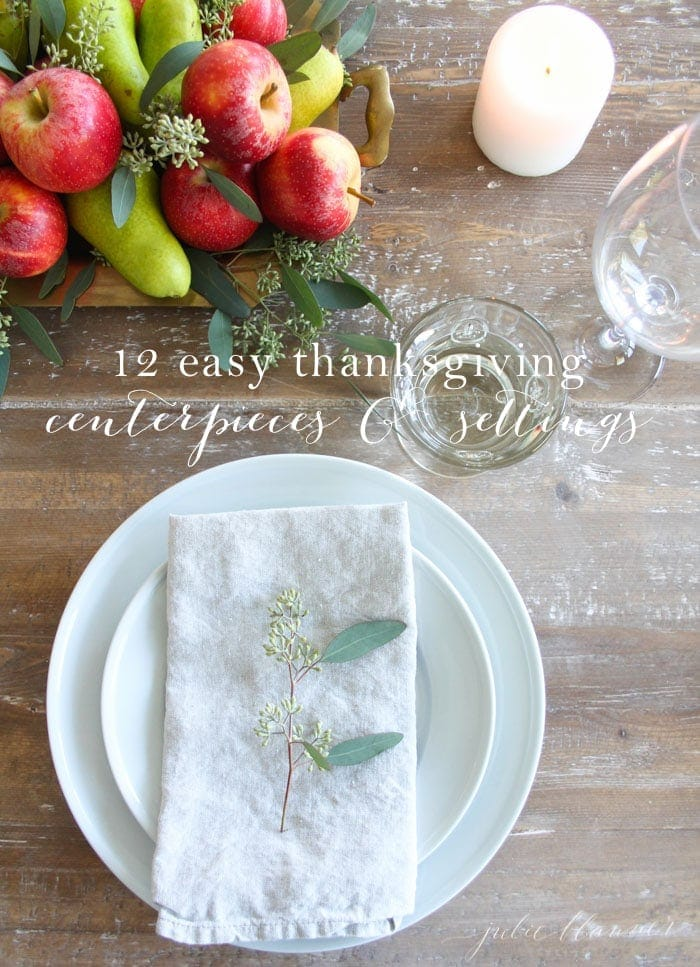 12 Thanksgiving Table Settings and a Gift from Me to You