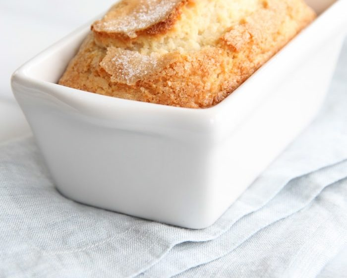 Easy 5 minute sweet bread recipe perfect for gift giving.