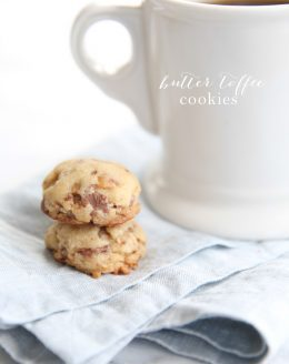 The best toffee cookie recipe