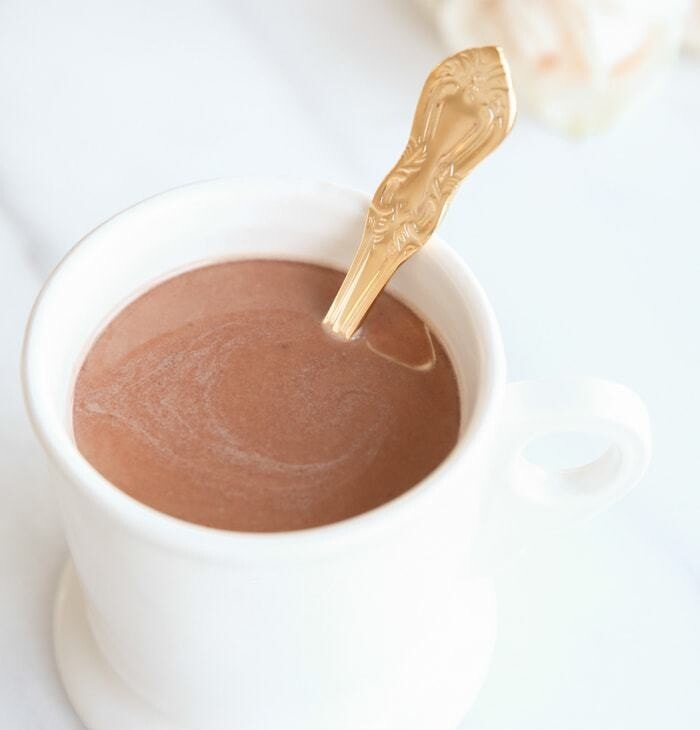 Easy, creamy homemade hot chocolate in minutes