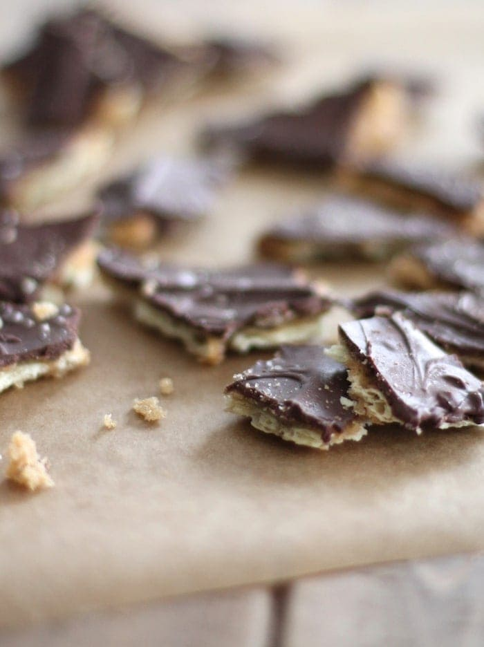 Best Recipes of 2015 | Incredible easy saltine toffee recipe