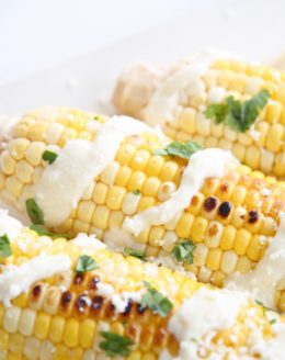 Easy grilled Mexican corn recipe