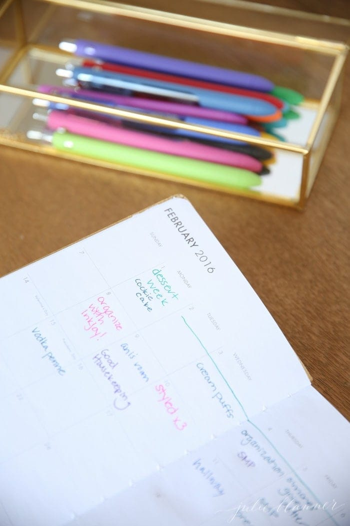 Tips for organizing your office, schedule and priorities with InkJoy at Staples