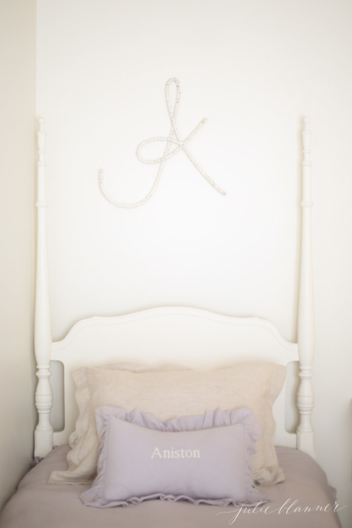 Little girls bedroom ideas - blending old and new
