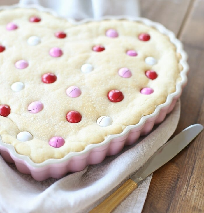 The best M&M cookie cake recipe