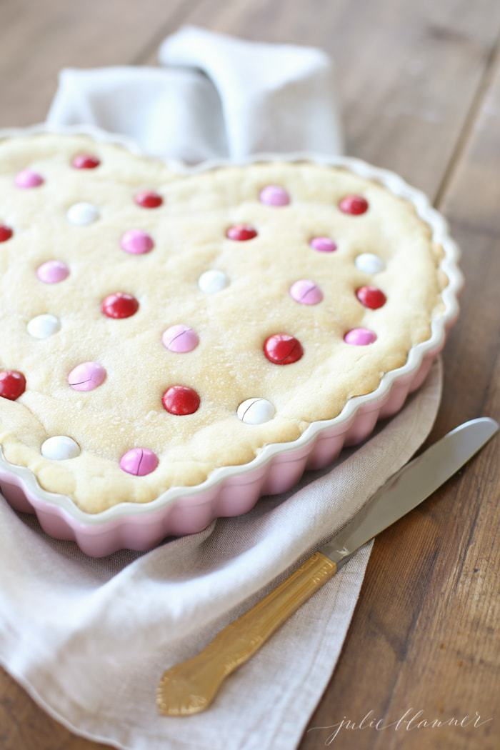 Easy Sugar Cookie Cake Recipe Birthday And Valentine S Day