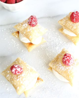 How to make cream puffs  easy Valentine's Day dessert recipe