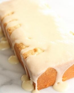 Amazing pound cake recipe, made in minutes from julieblanner.com