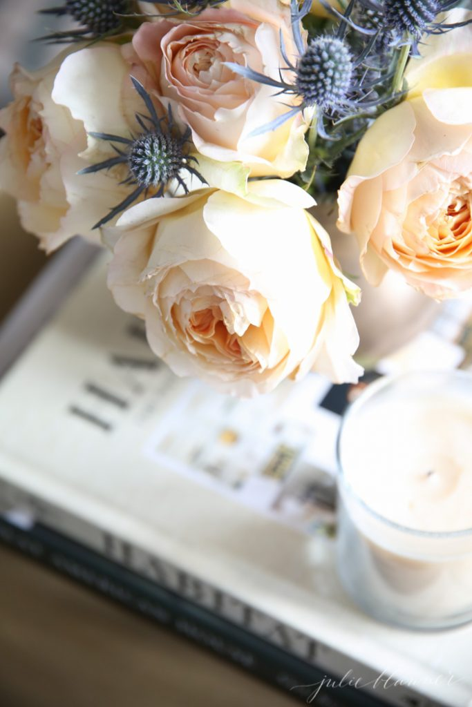 Everyday Flowers | Roses and Thistle
