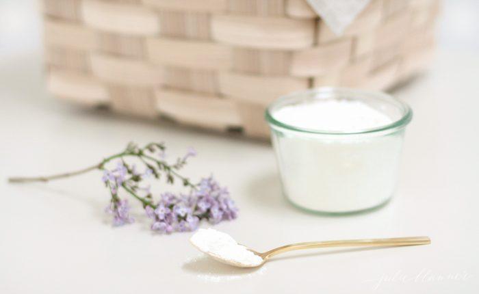 Easy DIY natural bath recipe