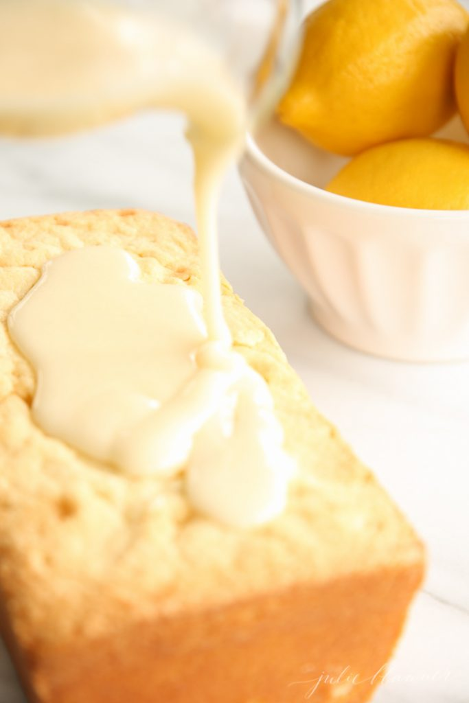 Easy lemon glaze recipe - prefect for cakes and doughnuts