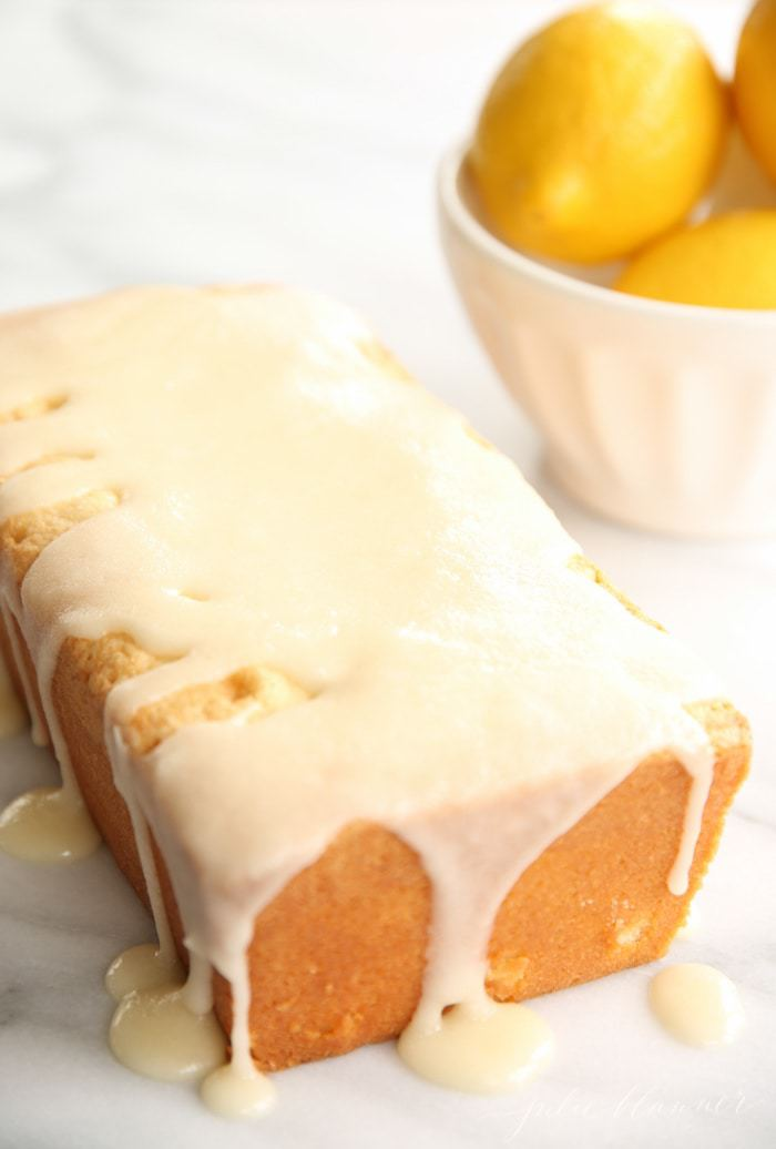 The best lemon pound cake recipe - so easy, too!