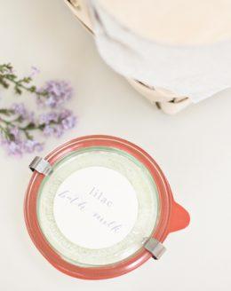 DIY milk bath recipe | homemade natural bath products
