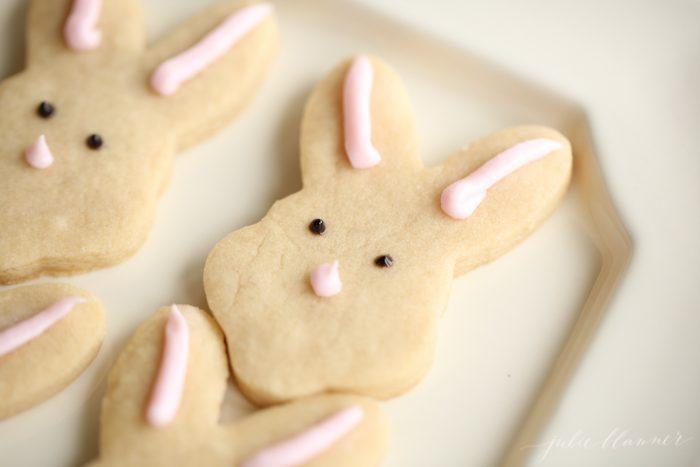 Buttery shortbread cookies