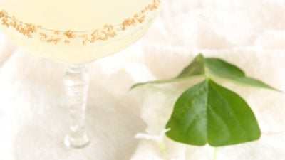 Shot of Gold - a refreshing sparkling lemonade to celebrate St. Patrick's Day