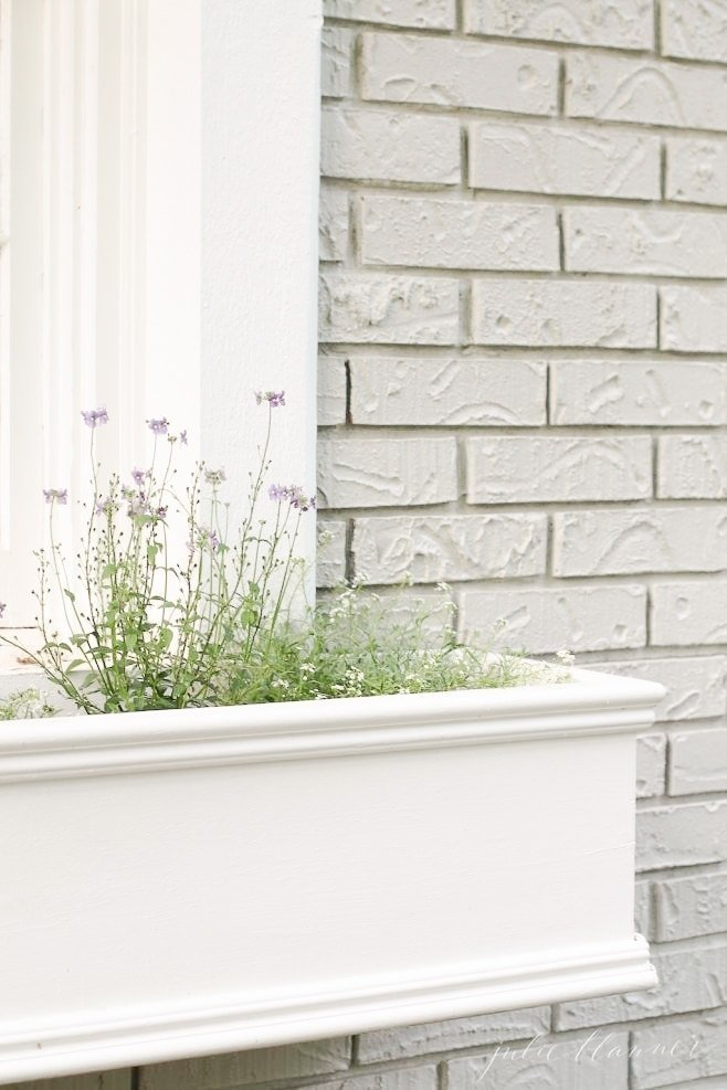 Add charm to your how by building window planters