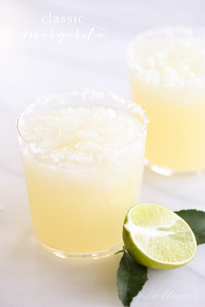 The best margarita recipe - make a pitcher of margaritas or just one great margarita with this easy recipe